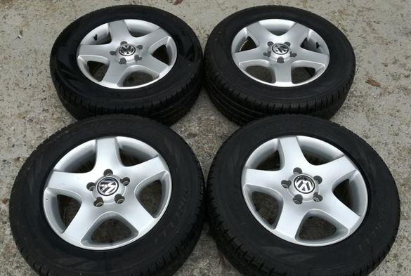 4бр.Оригинални алуминиеви джанти за VW Taureg 17 5x130