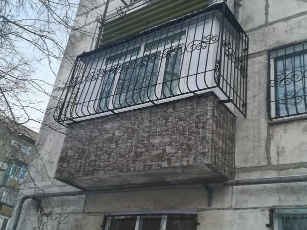 Окна в Рудном! Балконы!Лоджии! Обшивка. Натяжные Потолки!Ремонт