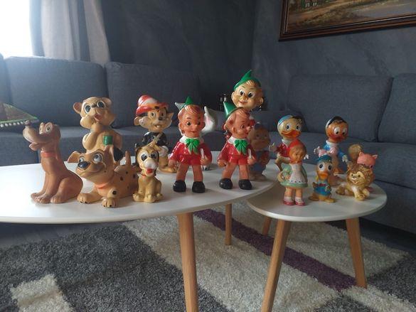 Гумени ретро стари играчки колекционерски на Дисни walt disney