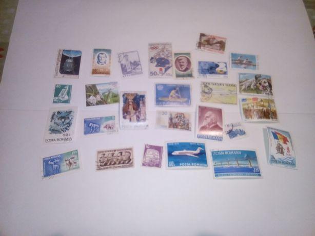 Vând mini colecție timbre