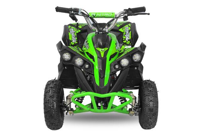 ATV Electric Eco Avenger 1000W 36V cu 3 Trepte de Viteza #Verde