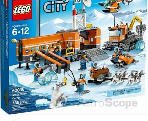 Контруктор игрушка-Лего арктика