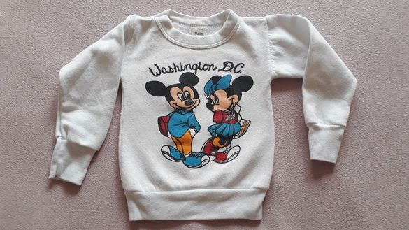 Бебешка ватирана блузка, размер 86