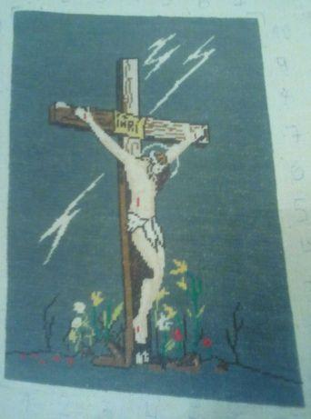Гоблен Исус на кръста