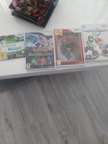 Vand jocuri de Wii PAL Wii Play Wii U Mario Kart Galaxy Tennis NTSC