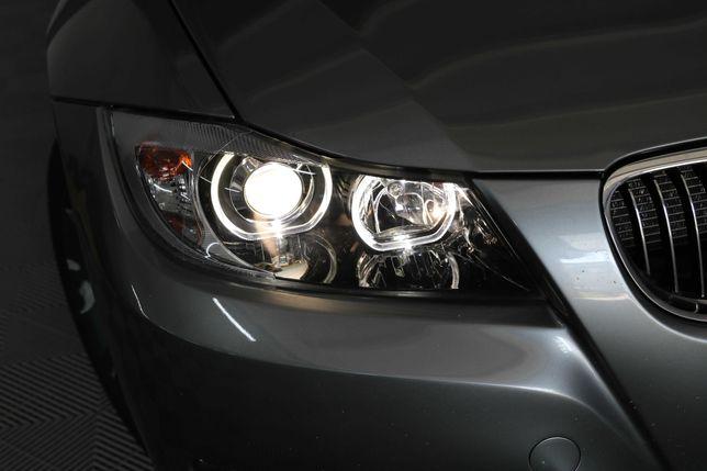 17.  Faruri BMW Seria 3 E90 (2005-2008) Angel Eyes Garantie 12 luni