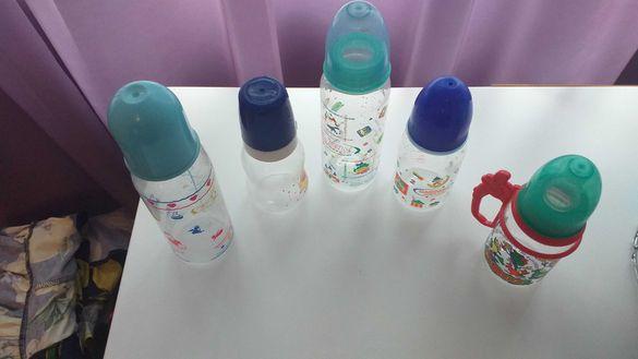 4 бр. шишета за бебе-10лв.