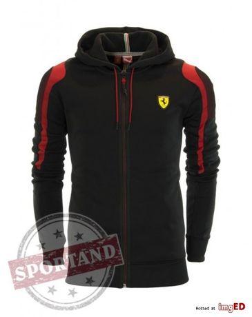 Cadoul ideal bluza sport PUMA FERRARI Jacheta softshell neagra fermoar