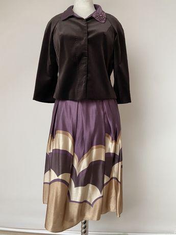Costum Falla din catifea si mătase naturală