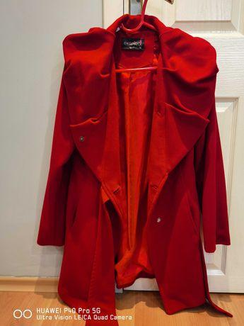 Дамско червено палто