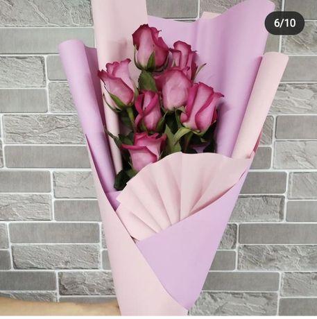 Розы по 350тг 50см