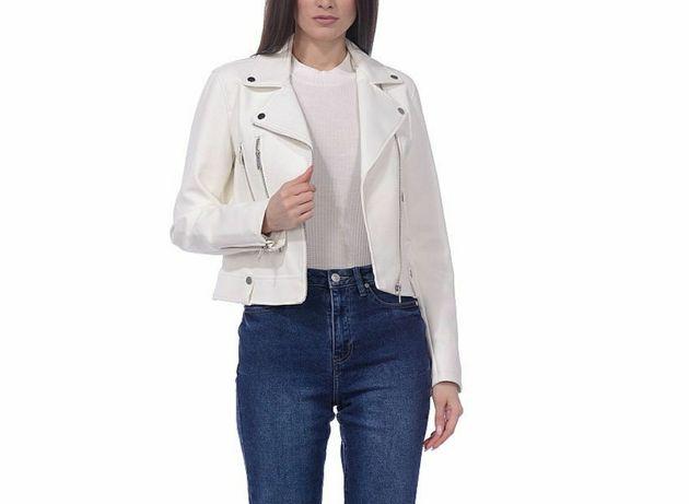 Продается белая косуха, кожанка, кожаная куртка