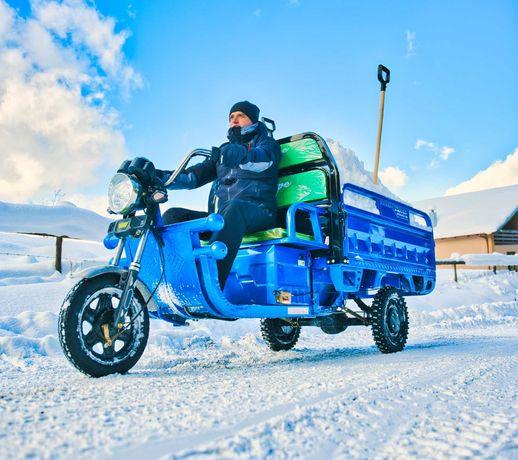 TukTuk-PROMOTIE până la 31.12.2021 / Triciclu electric marca MoveEco