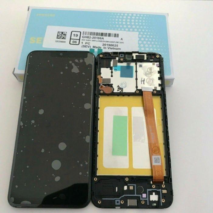 Display ORIGINAL Samsung A20e Montaj Pe Loc Garantie 12 luni Bucuresti - imagine 1