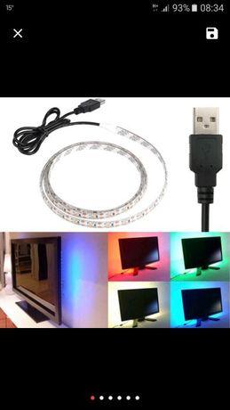 Bandă LED, pentru televizor și monitor.