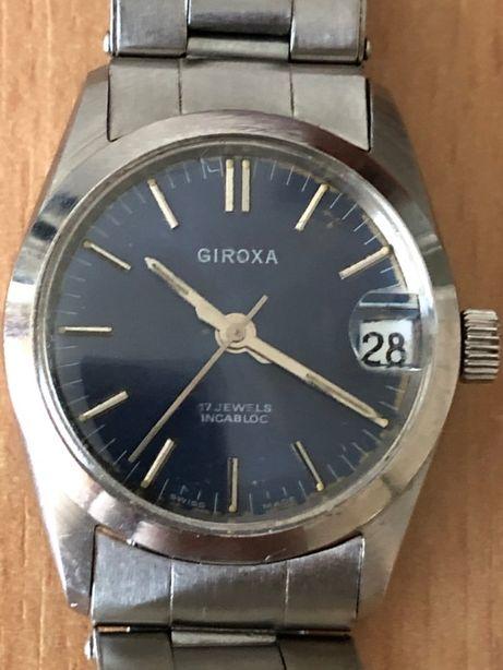 Ceas mecanic Vintange Giroxa 17 jewels incabloc - elvetian - colectie