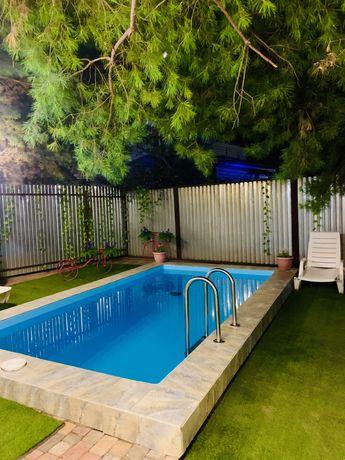 Дом , коттедж посуточно в аренду с теплым бассейном