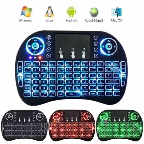 Мини клавиатура bluetooth Rii i8с touchpad съвместима със Smart TV