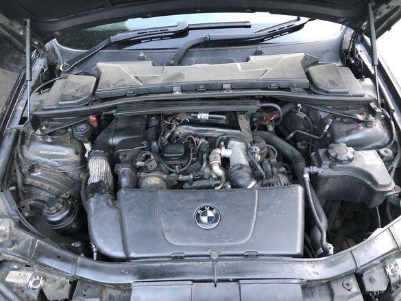 Продаваме двигател 2.0д 163кс от бмв е90 bmw e90 на части