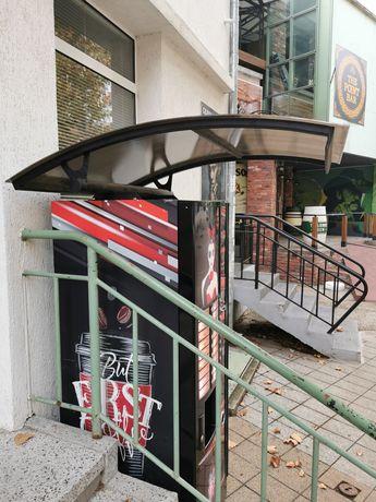 НОВО ! Навес/Покрив/Козирка Вендинг Машини Кафеавтомати
