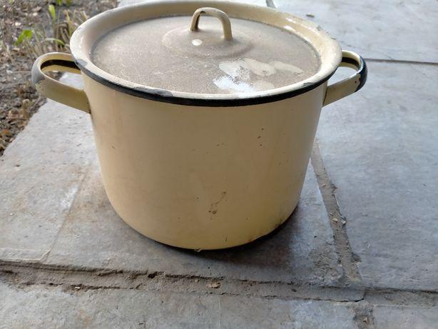Кастрюля 4 л и посуда бу
