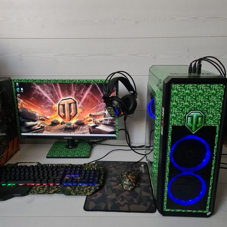 Продам игровой компьютер intel i7 GTX TANK