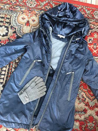 Куртки на девочку осень