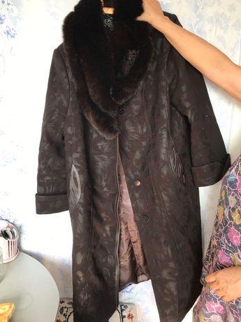 Продам зимнее пальто и дубленки