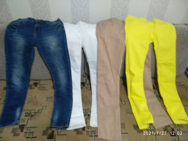Женская одежда б/у (разная) 42-44 размера