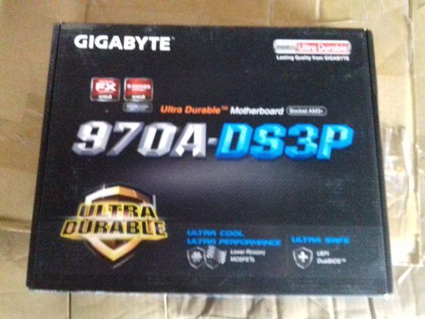 Placa de baza Gigabyte 970A-DS3P, Socket AM3+ sigilata, noua