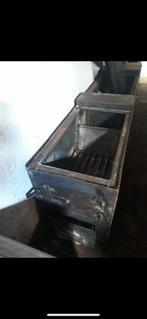 Продам печь котел новый