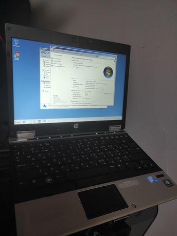 Продам солидный ноутбук hp elitbook 2540p core i7 процессор, ОЗУ 4