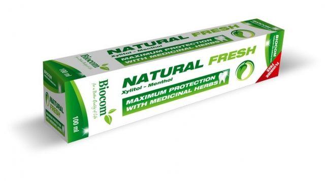 Pasta de dinti fara fluor, aluminiu,zahar,cu ingrediente naturale 100