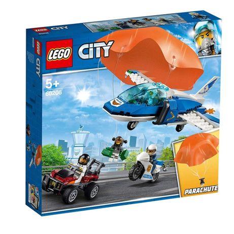 LEGO6 0208 Воздушная полиция: арест парашютиста CITY новый !