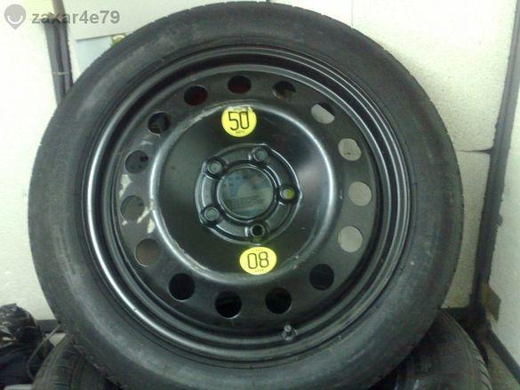 продавам резервна гума патерица за бмв Е-60 17-ка 5x120