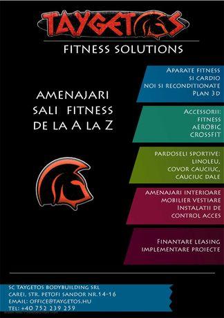 Amenajari sali fitness de la A la Z - Finantare leasing - Proiecte
