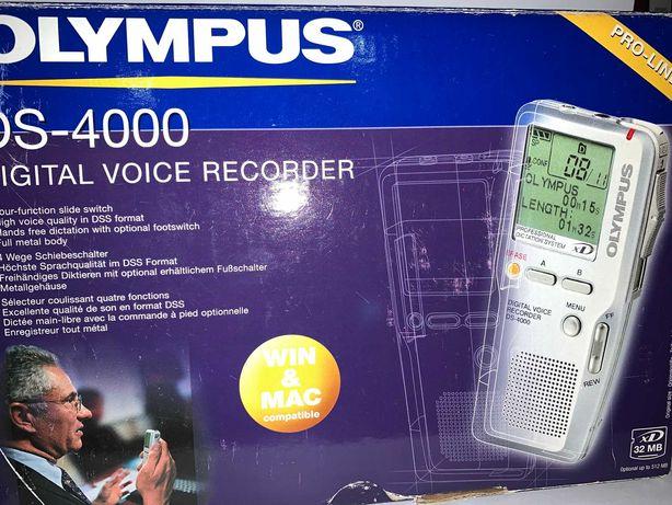 Reportofon digital profesional Olympus DS-4000 544MB XD mem ext ca nou