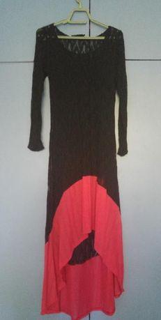 Плетена рокля на Карамела фешън в две части