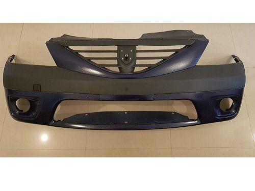Bara fata Dacia Logan MCV cu proiectoare vopsita Albastru Jandarm 61H