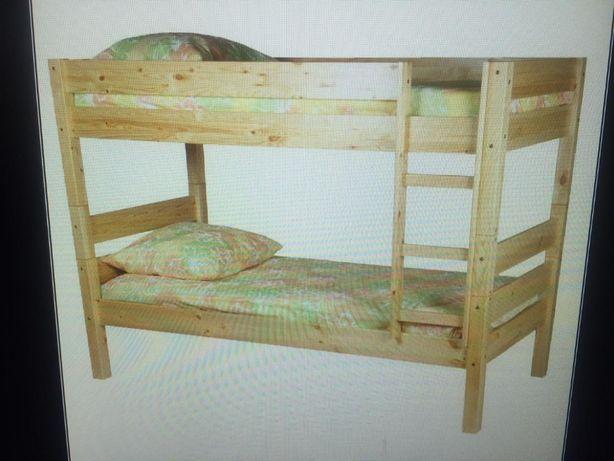 продам 2-х этажную кровать  двухярусную