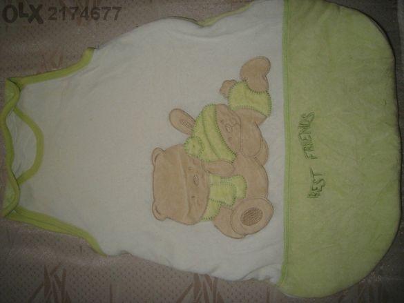 бебешко спално чувалче - 0-3м. /62см./