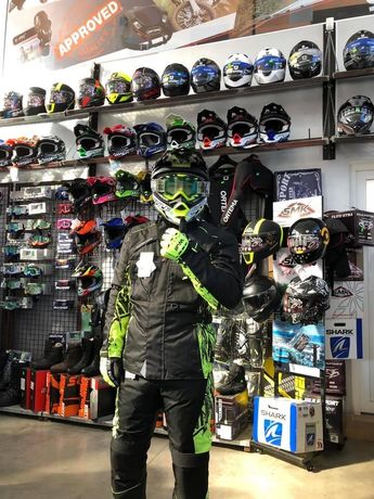 Costum Atv/Enduro Wulfsport protectii full-si in rate fixe prin TBIpay