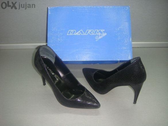 Елегантни и стилни дам.обувки Дарис естествена кожа