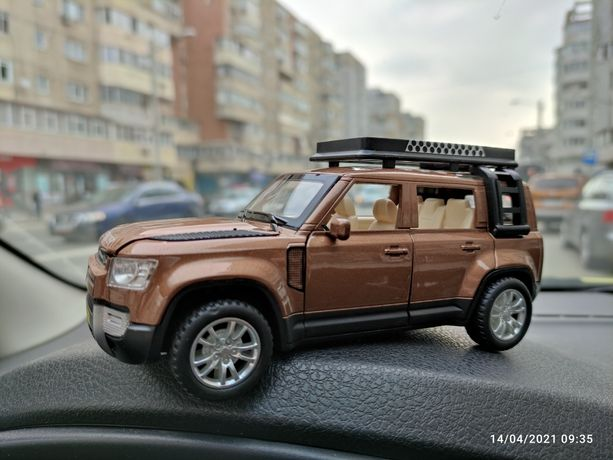 Machetă Land Rover Defender