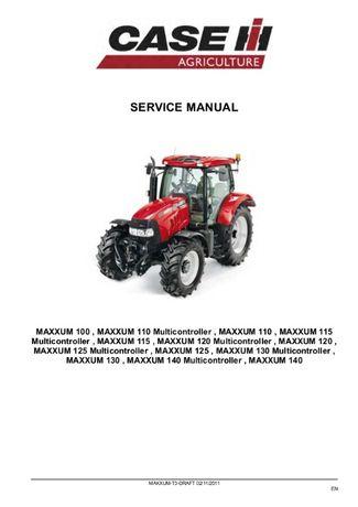 Manual de service reparatii catalog piese tractor combina Case IH