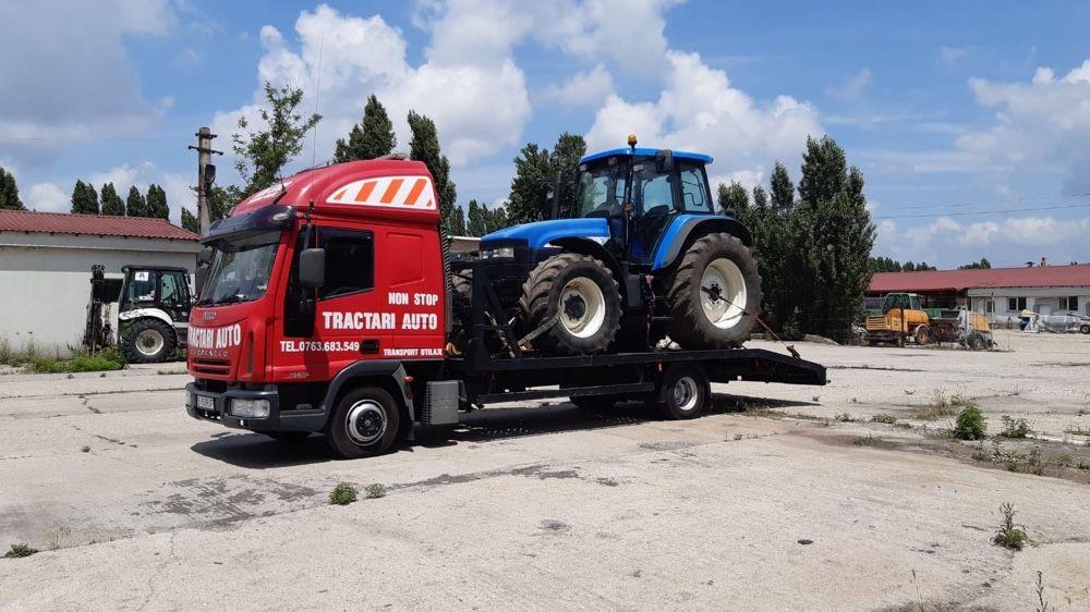 Tractari auto moto dube transport rulota tractor stivuitor nacela etc Bucuresti - imagine 1