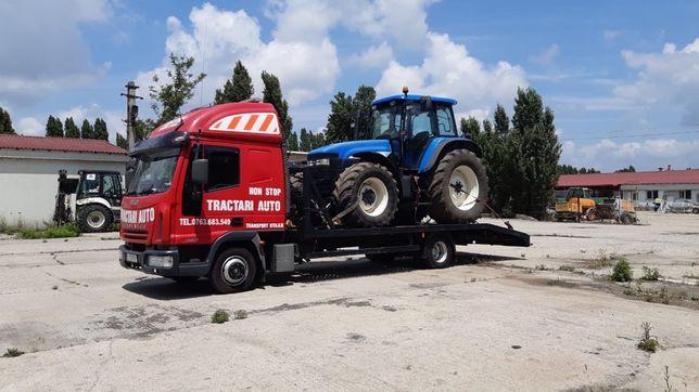 Tractari auto moto dube transport rulota tractor stivuitor nacela etc
