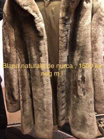 Haine de blana naturala de lux