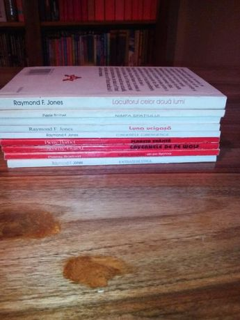 colectia carti sf editura antet 9 volume in stare foarte buna nu se da