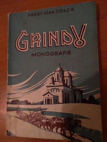 Monografie Grindu, editia 1, 1944, Constanta, Dobrogea